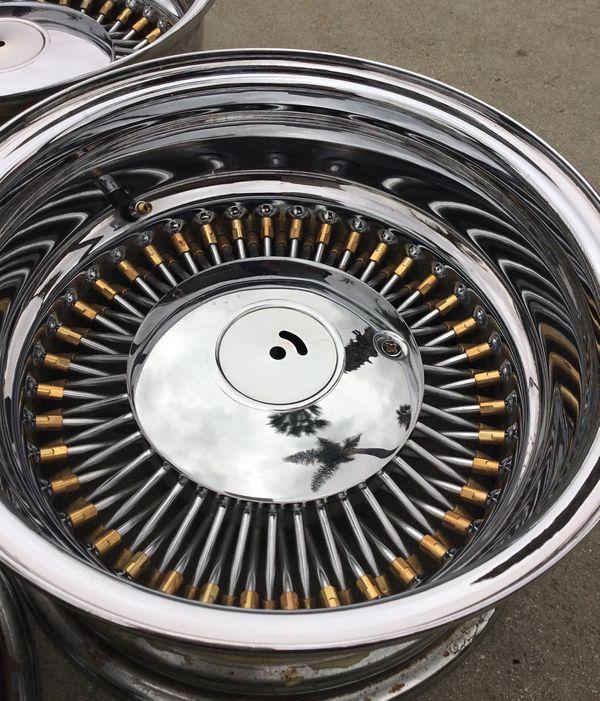 McLean Wire Wheels 14x7 Reversed Old School New Universal