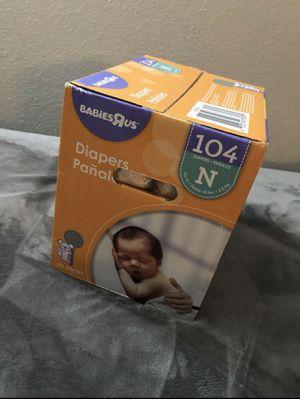 newborn diapers for Sale in Dallas, TX