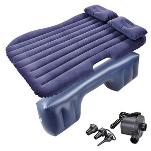Inflatable Mattress Backseat Air Bed Pillow with Pump Portable Car RVs Camping for Sale in Montclair, CA