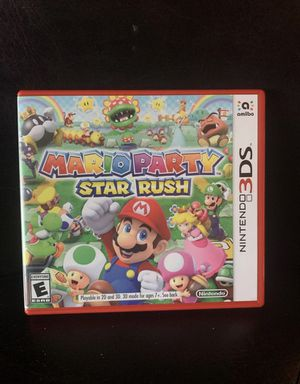 Mario Party Star Rush for Nintendo 3DS for Sale in Tarpon Springs, FL