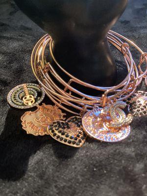 Rose gold charmed bangles for Sale in Chesapeake, VA
