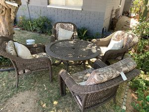 Patio Furniture 6 chairs and Table Make An Offer! for Sale in Phoenix, AZ