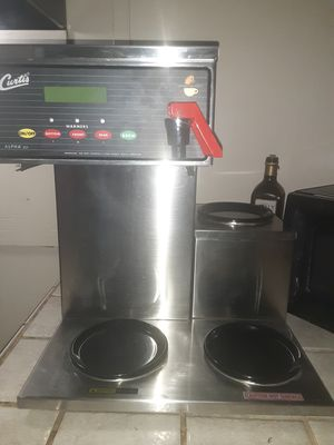 Commercial Wilbur Curtis coffee decanter with 3 hot plates for Sale in Jacksonville, FL