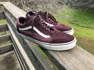 Vans Old Skool - Wine Red - 10.5 Men's for Sale in Carmichael, CA