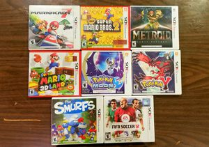 Excellent Nintendo 3DS Games For Sale for Sale in Riverside, CA
