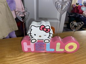 hello kitty picture stand for Sale in Spring Hill, FL
