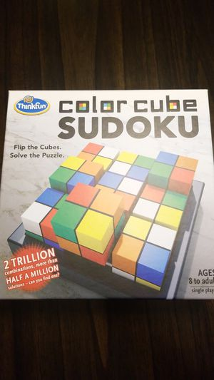 Color Cube Sudoku Puzzle Game for Sale in Hialeah, FL