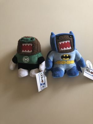 Batman and Green Lantern Domo Plushies for Sale in Fontana, CA