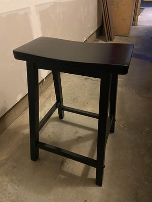 Black Wooden Counter Stools - EXCELLENT CONDITION for Sale in Washington, DC