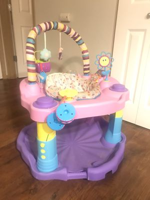 Evenflo Exersaucer Bounce and Learn Sweet Tea, Party for Sale in Anacortes, WA