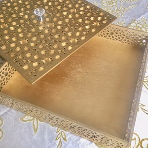 Laser cut wooden box for your goodies ( chocolate, dry fruit, date, your favorite candy.....) for Sale in Pawtucket, RI
