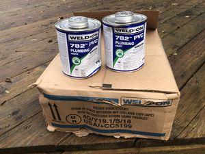 Weld On 782 PVC PLUBING for Sale in Harrisonburg, VA