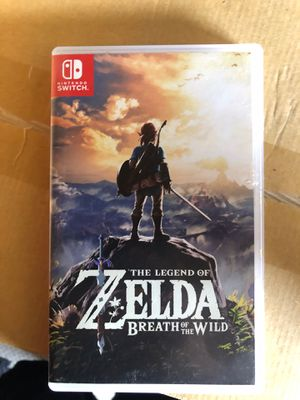 Zelda Nintendo switch for Sale in Brentwood, MD