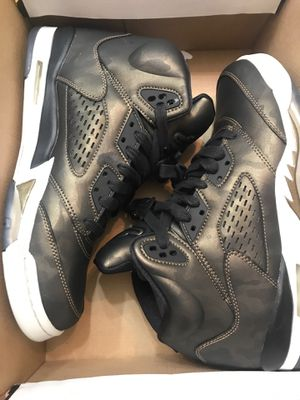 GS Jordan Retro 5 PREM HC Size 9Y for Sale in Kissimmee, FL