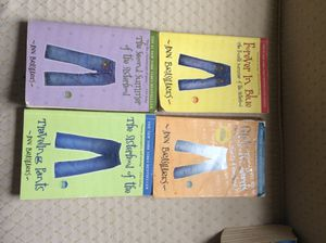 The sisterhood of the traveling pants book series for Sale in Moline, IL