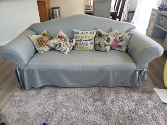 Sofa with cover for Sale in Bonney Lake,  WA