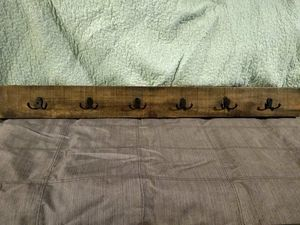 RUSTIC WALL COAT RACK for Sale in Sunnyvale, CA