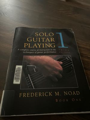Solo guitar playing book for Sale in West Haven, CT