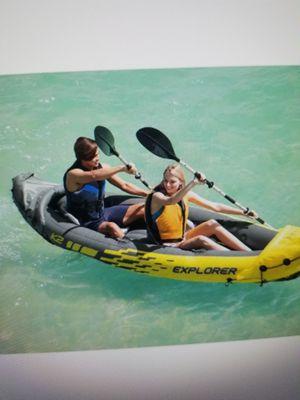 Intex Explorer K2 Kayak 2 person inflatable for Sale in Rancho Cucamonga, CA