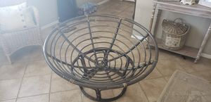 Pier One papasan chair without cushion for Sale in Mesa, AZ