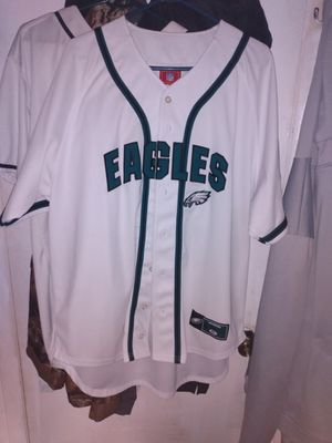 NFL eagles jersey (baseball style) for Sale in Hatboro, PA