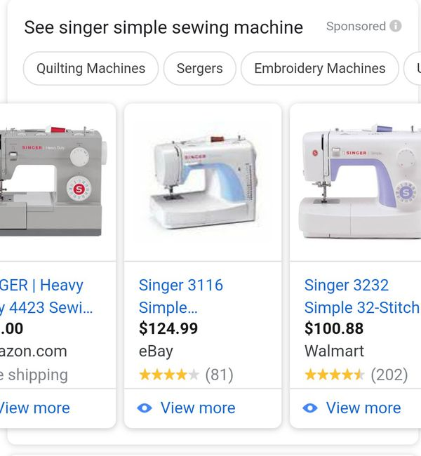 Sewing machine brand singer NEVER BEEN OPEN for Sale in Franklin Park, IL -  OfferUp