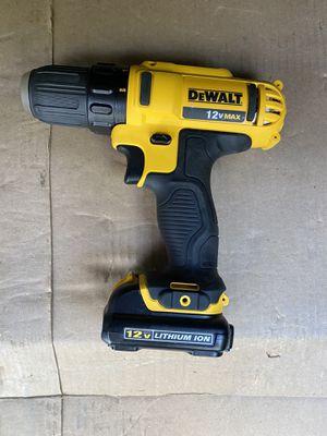Dewalt 12v drill for Sale in Kent, WA