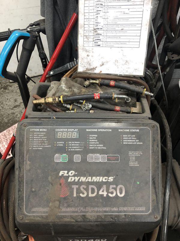 TSD450 Transmission Saver Machine