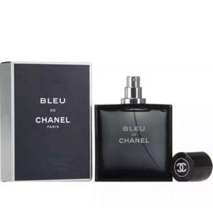 Luxury Fragrance Bleu De Chanel Men's Eau de Toilette 3.4 oz 100 ml Spray NEW SEALED for Sale in Houston, TX