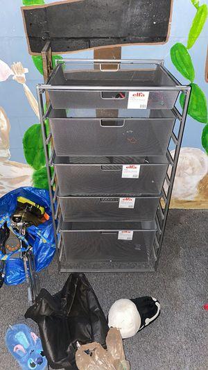 Metal drawer storage for Sale in St. Petersburg, FL