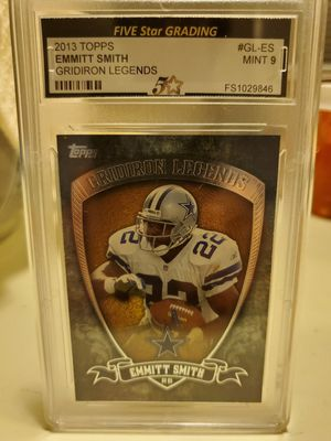 Emmitt Smith 2013 Topps # GL-ES Gridiron Legends Mint 9 for Sale in Alhambra, CA