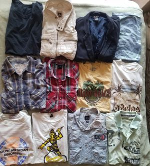 Lot of mens clothes size M-L 12 pieces for Sale in HALNDLE BCH, FL