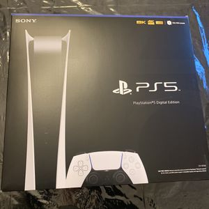 Sony Ps5 Playstation 5 Digital Edition - Brand New In Box for Sale in Fremont, CA