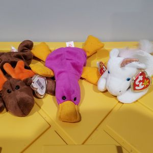 Ty Beanie Babies 1993 Set Of 3 for Sale in Norwalk, CA