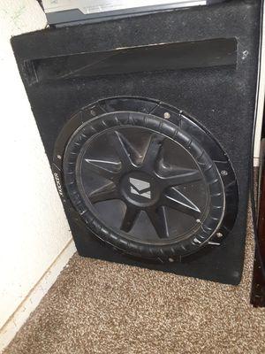 12 inch kicker comp for Sale in Berenda, CA