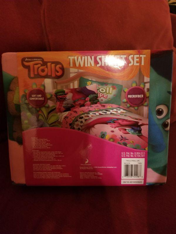 Girl's Twin Sheet Set