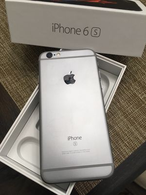 Iphone 6s 32GB *ICLOUD UNLOCKED** WORKS WITH T-MOBILE, METRO PCS, CRICKET, AT&T, AND MEXICO. for Sale in Corona, CA