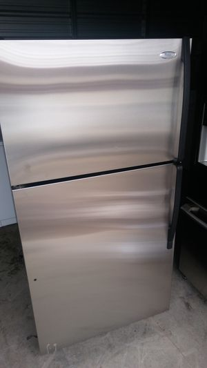 """Whirlpool """"Gold"""" Stainless Steel refrigerator for Sale in Denver, CO"""
