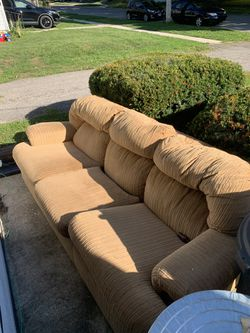 Tan couch for Sale in Galion,  OH
