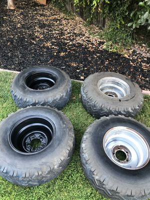 15 inch 5 on 5.5 wheels for Ford,Dodge, Old jeeps for Sale in Roseville, CA