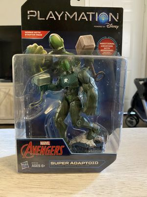 Hot Wheels & DISNEY MARVEL Playmation Avengers Super Adaptoid for Sale in Escondido, CA