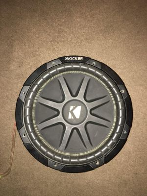 """12"""" subwoofer kicker hits hard for Sale in Fontana, CA"""
