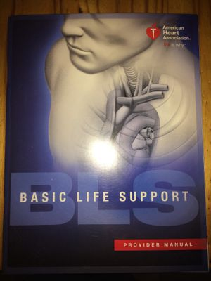 CPR for bls. Medical professionals cpr book for Sale in Penrose, CO
