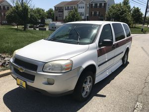 2008 Chevy Handicap Ramp Equipped Mini Van for Sale in Suitland-Silver Hill, MD