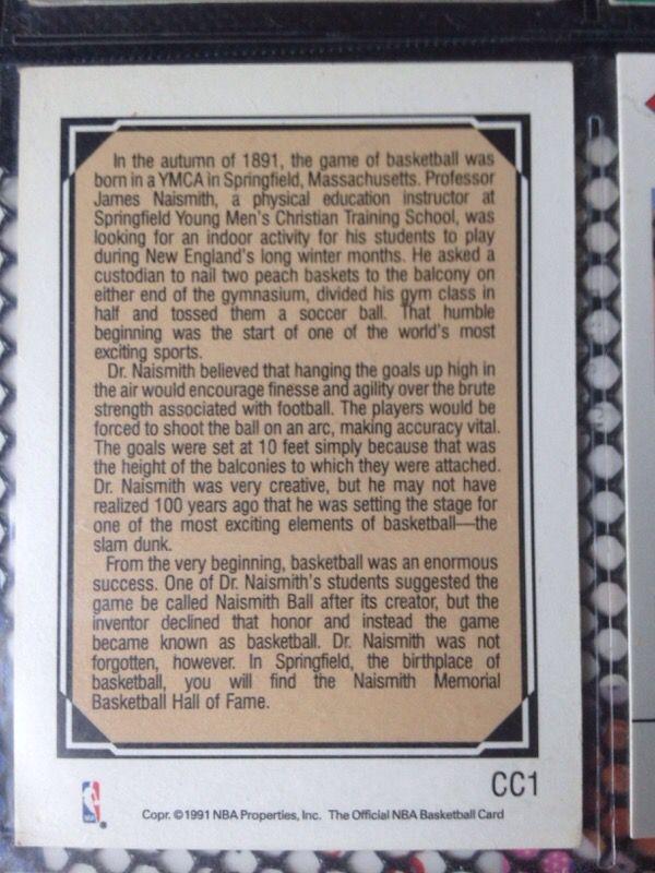 Basketball Card: The Man Who Created Basketball - James Naismith