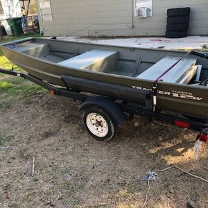 2020 Tracker Jon Boat for Sale in San Antonio, TX