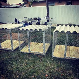 3x3x3 dog kennels for Sale in Hollywood, FL