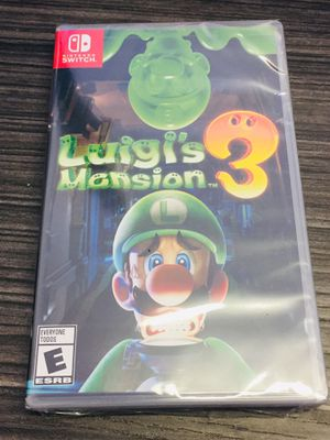 Luigi's Mansion 3 - Nintendo Switch Game - Brand New - $50 Cash for Sale in Los Angeles, CA