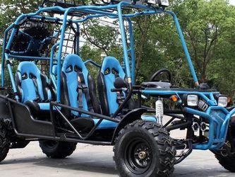 4 Seater Go Kart 200cc Carrito De Gasolina Cuatro Tiempos Nuevo for Sale in Houston,  TX
