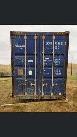 40ft conex sea crate boxes for Sale in Blue Springs, MO